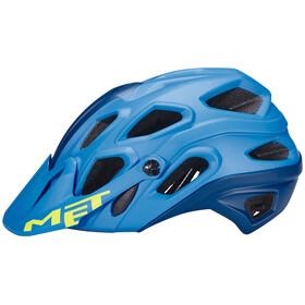 MET Lupo Kask rowerowy niebieski